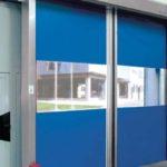 blue ocm fast doors installed by milex engineering