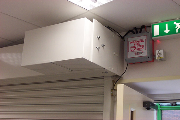 secutiry fire shutters power unit and core processing unit