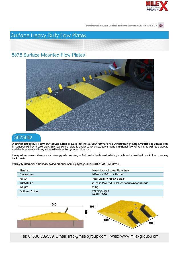 5875HD Flow Plates