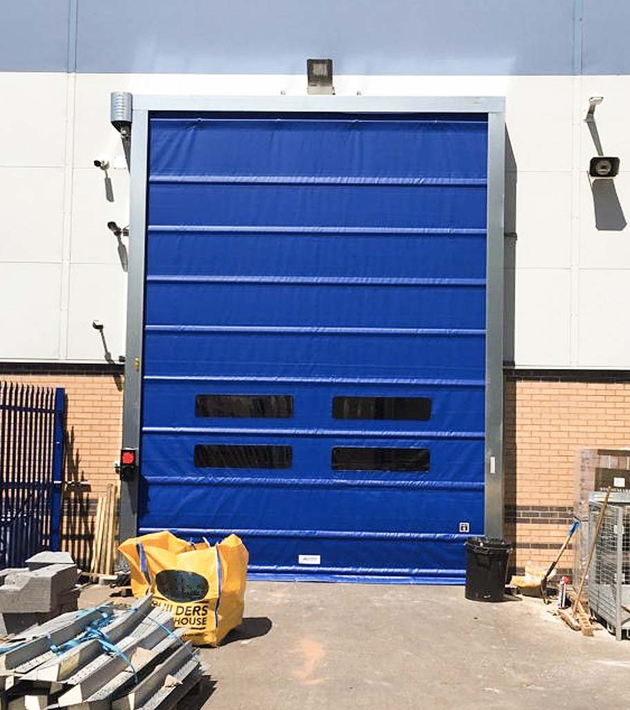 Blue Giesse High Speed Door