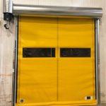 Yellow Giesse Fold Up Hig Speed Door